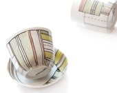 ready to ship - Bathroom Set. 3 piece - Discontinued Sale - Patchwork Collection