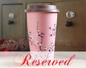 reserved listing for greentarat - deposit - Pink Cherry Blossoms