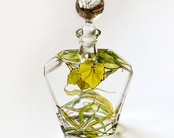 Glass Decanter - Botanical, Grass Fields Collection