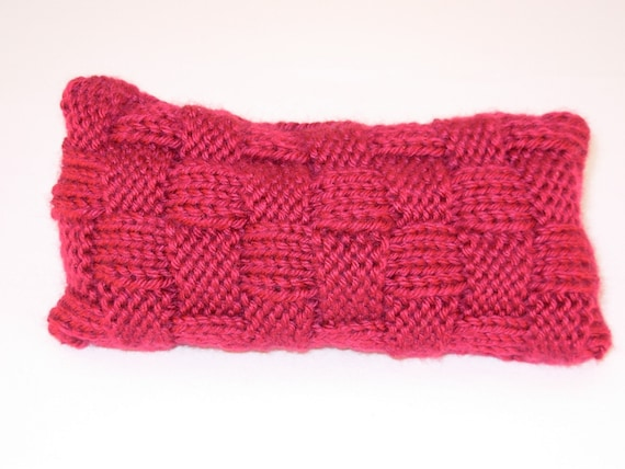 Mouse Size Bean Bag Wrist Rest Raspberry By Betani On Etsy