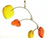 Dancing Orange and Yellow Glass