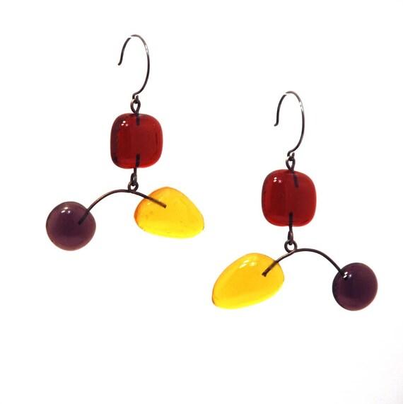 Orecchini Collection Glass Mobile Earrings