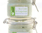 Key Lime & Grapefruit Whipped Shea Butter Scrub - NaiadSoapArts