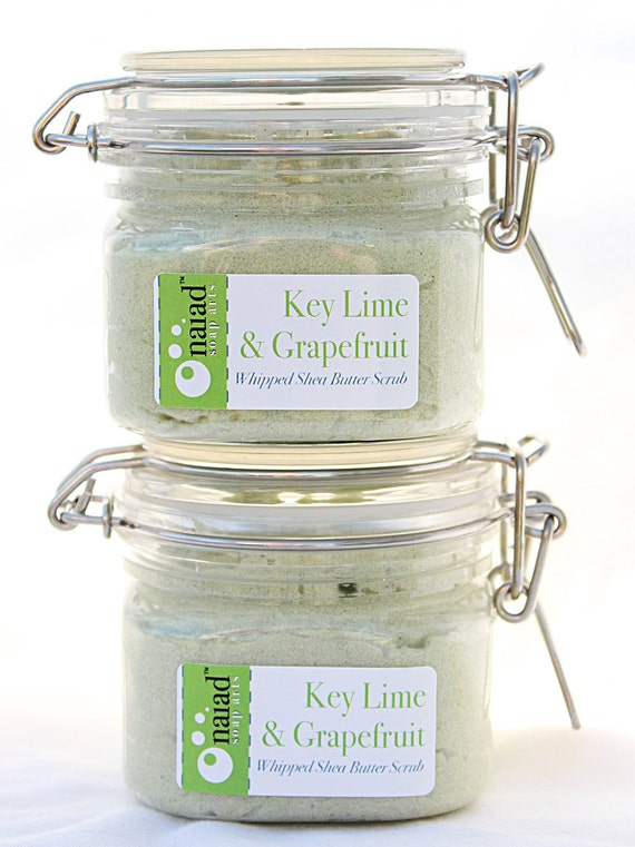 Key Lime & Grapefruit Whipped Shea Butter Scrub