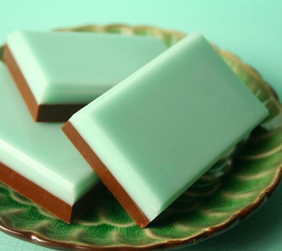Chocolate Mint Soap Bars