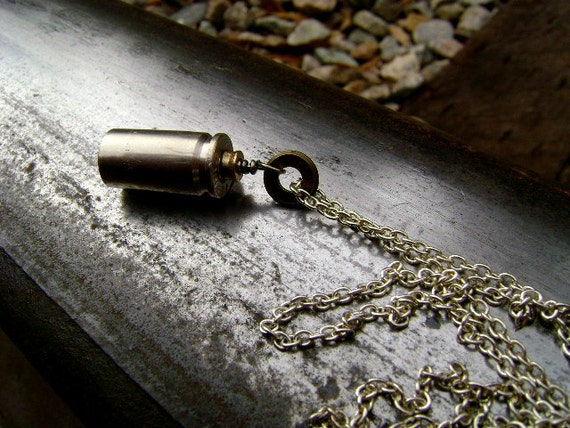 La Bandita Bullet Shell Upcycled Necklace- Free Shipping