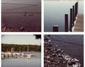 4 8x8 Prints Fine Art Photography Set Lake