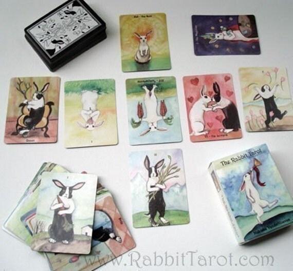 Special Discount  - The Rabbit Tarot - Card Deck - Second Edition - NO BOX