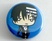 Soul Eater - Death The Kid Button