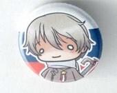 Chibi Anime Button: Hetalia- Russia