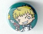 Chibi Anime Button: Black Butler - Bard