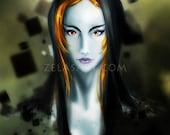 Adult Midna - Zelda Twilight Princess fan art print