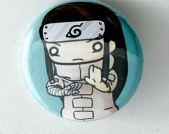 Naruto - Neji Button