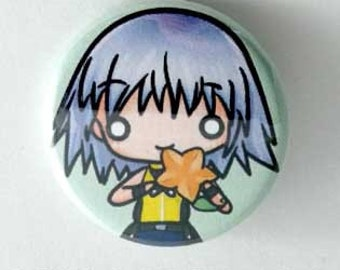 Kingdom Hearts - Riku Button