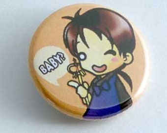 Inu Yasha - Miroku Button