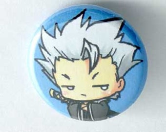 Bleach- Chibi Hitsugaya Button