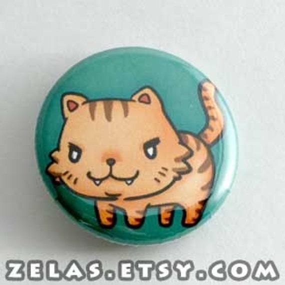 Toradora- Palmtop Tiger Button