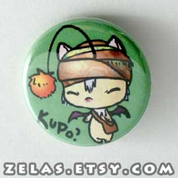 Final Fantasy - Moogle Button
