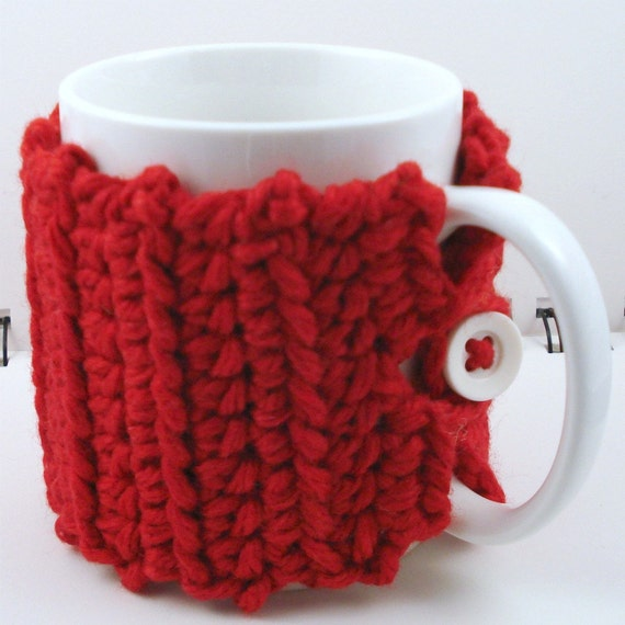 Mug Cozy in Red