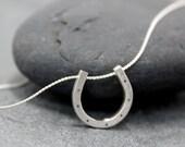 HORSESHOE Lucky 7 Charm Necklace
