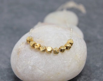 NINE NUGGETS anklet