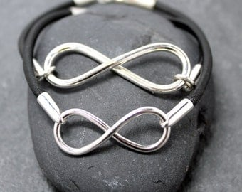 INFINITY BRACELET III,Heavy ,Men,Women,Couple,set