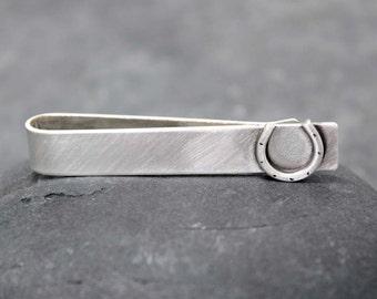 LUCKY Tie Clip, bar,tack, for men