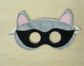 Adult Size Raccoon Mask