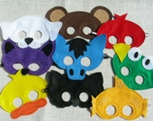 Brown Bear Mask Pack