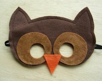 Child's Owl Mask