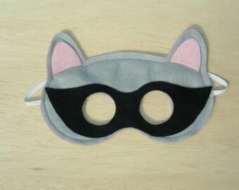 Adult Size Raccoon Mask