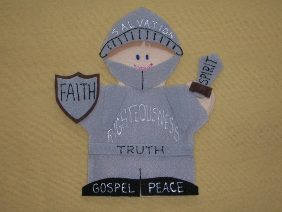 Armor of God Puppet
