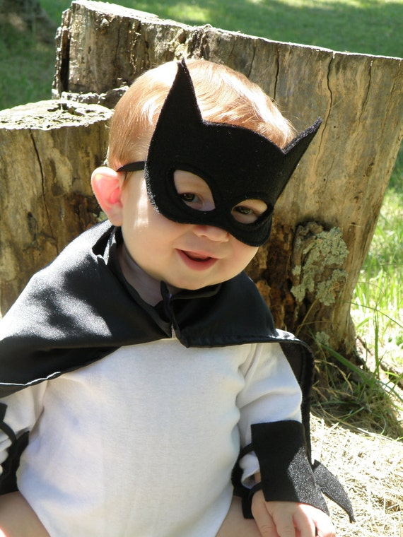 For Kristin - Child Size Batman Cape, Mask and Cuff Set Overnight Shipping US Only