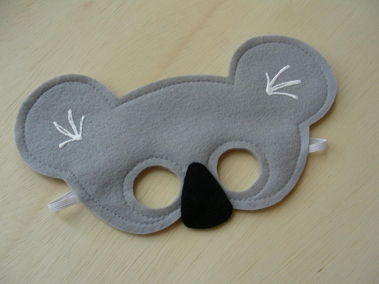 Koala Mask for Children by Mahalo on Etsy