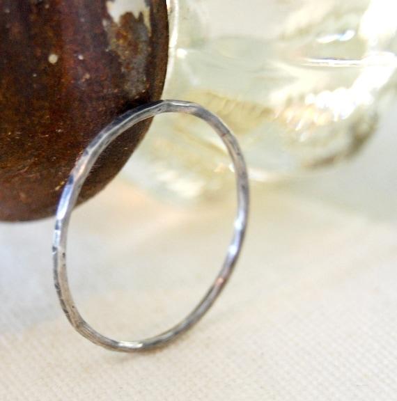 rainy day ring - sterling - custom