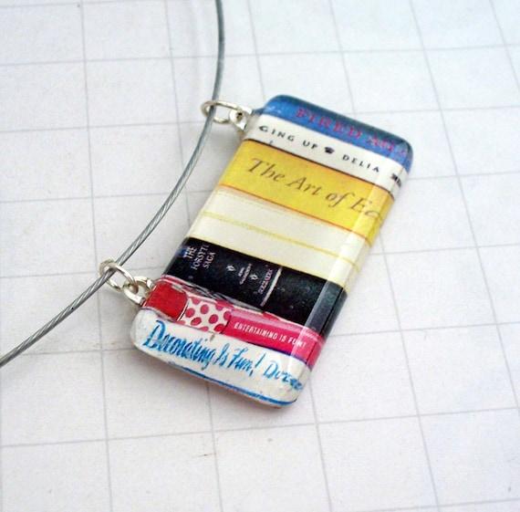 Librarian Pendant Necklace