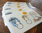 Holiday Cards - Four Seasons - Standard Pack