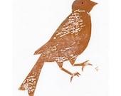 Gold bird transfer
