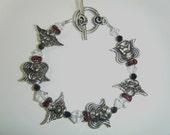 Angel Bracelet with Swarovski Beads
