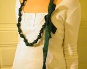 Satin necklace \/ belt \/ headband 3 in1