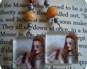 Drink Me - Handmade Alice in Wonderland Earrings