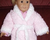 Knit PDF Pattern - Doll Bathrobe