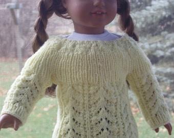 Knit PDF Pattern - Fannie Mae sweater