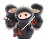 Set of 3 Ninja Figures
