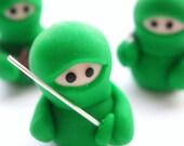 Set of 3 Green Ninja Companions