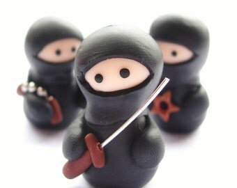 Set of 3 Ninja Figures