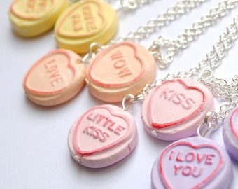 Custom Loveheart Necklace