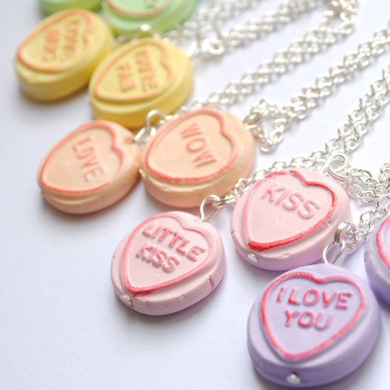 Custom Loveheart Necklace