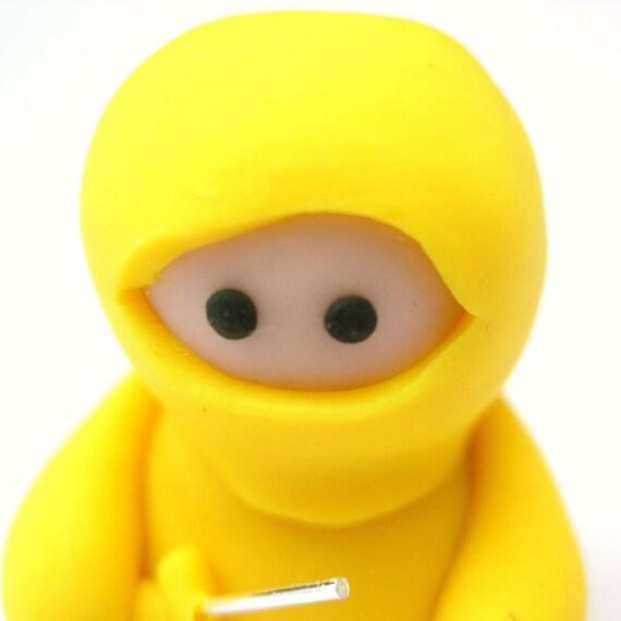 Little Yellow Ninja with Sword
