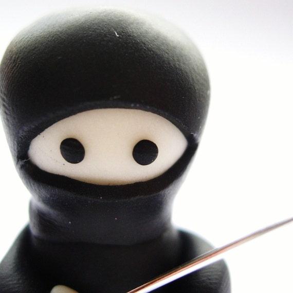 Little Glow in the Dark Ninja with Sword